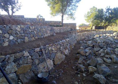 Reformas muros San Miguel e hijos